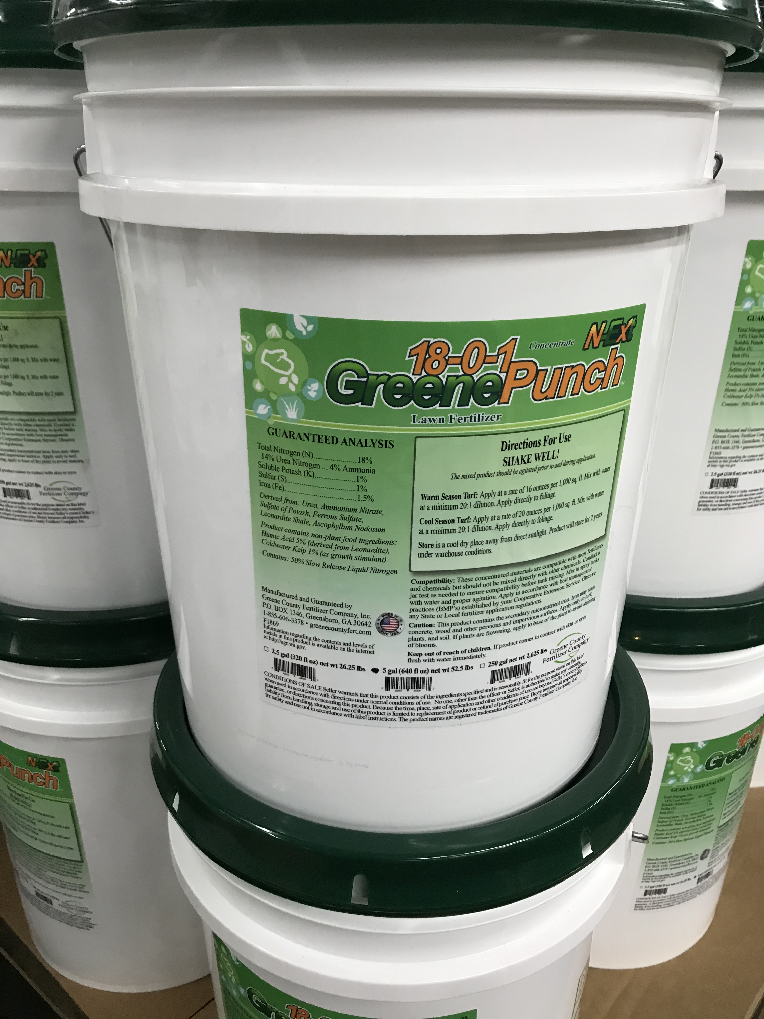 18 0 1 Greenepunch Lawn Fertilizer Greene County